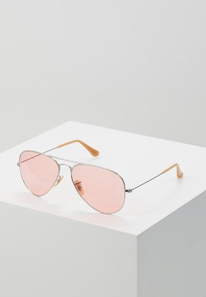AVIATOR LARGE METAL - Sunglasses - silver-coloured