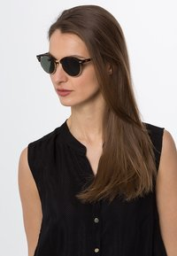 Ray-Ban - CLUBROUND - Sonnenbrille - brown/green - 1