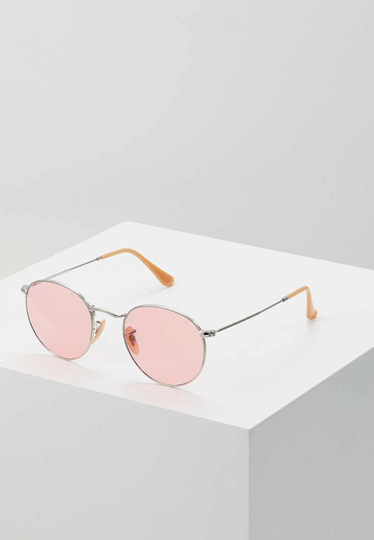 Ray-Ban - ROUND METAL - Sunglasses - silver-coloured