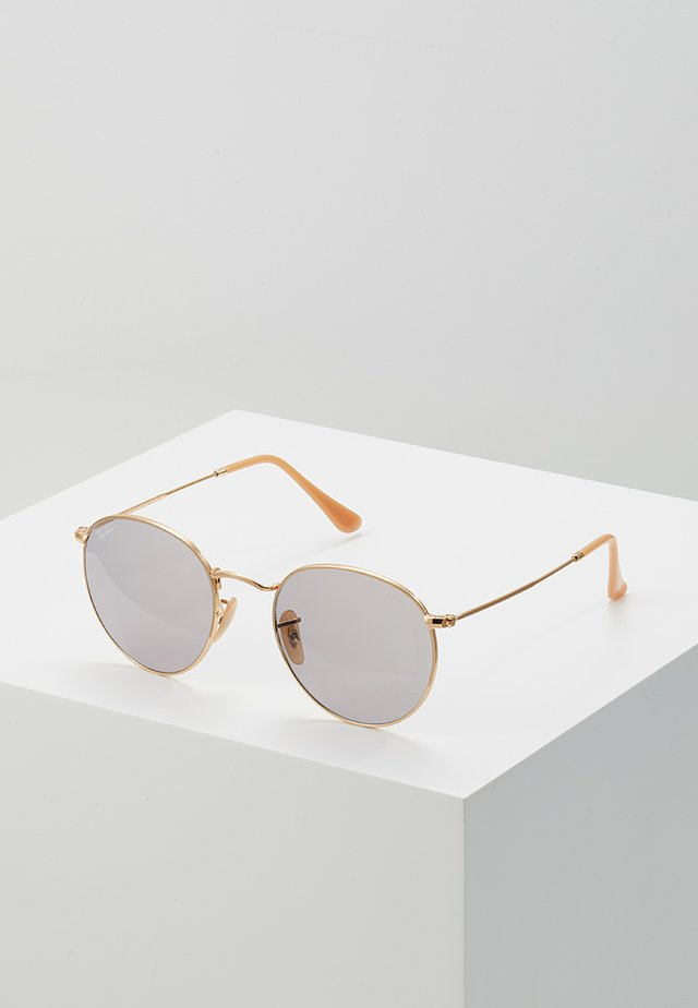ROUND METAL - Lunettes de soleil - gold-coloured