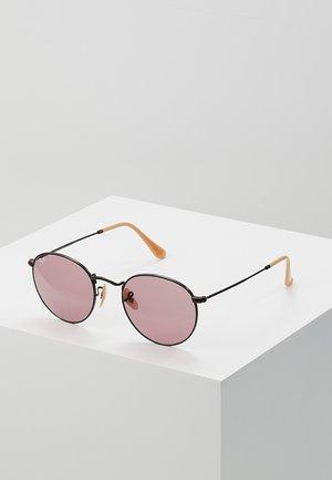 ROUND METAL - Sluneční brýle - black
