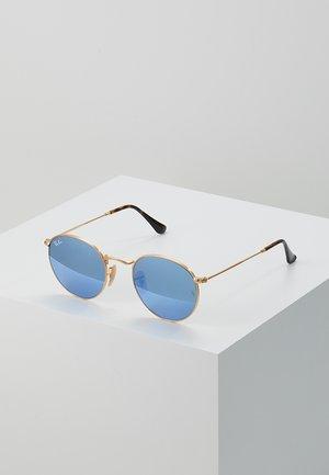 Sunglasses - light blue flash