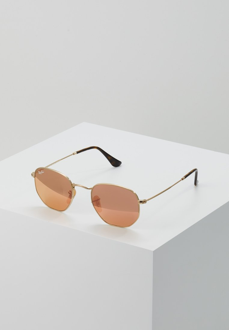 Ray-Ban - Sonnenbrille - gold copper flash