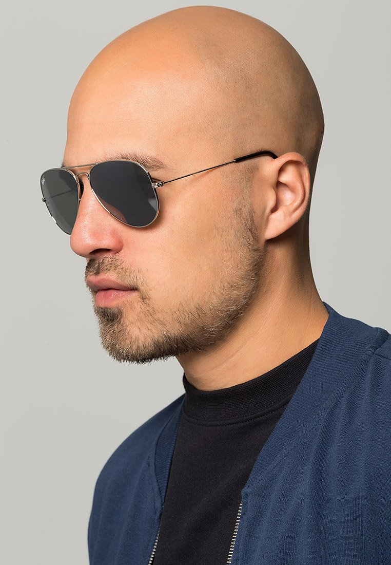 Ray-Ban - AVIATOR - Sonnenbrille - silver-coloured