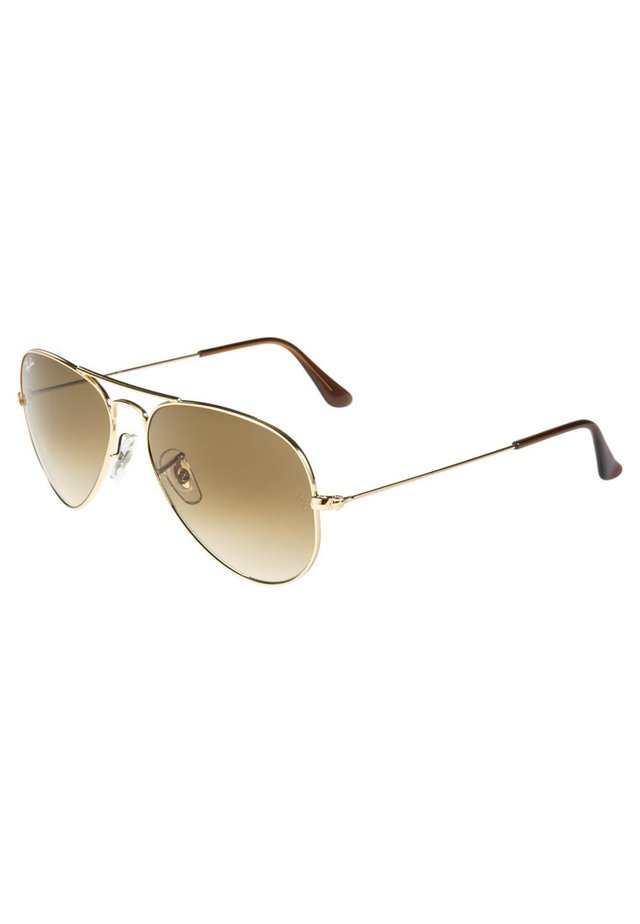 AVIATOR - Sunglasses - braun/goldfarben