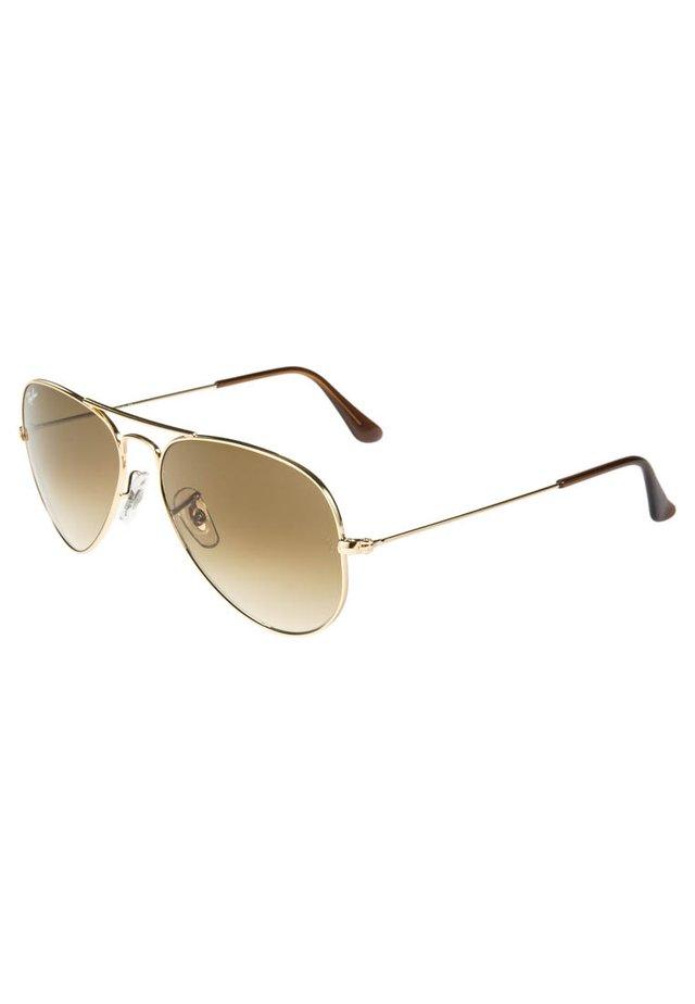 AVIATOR - Sonnenbrille - braun/goldfarben