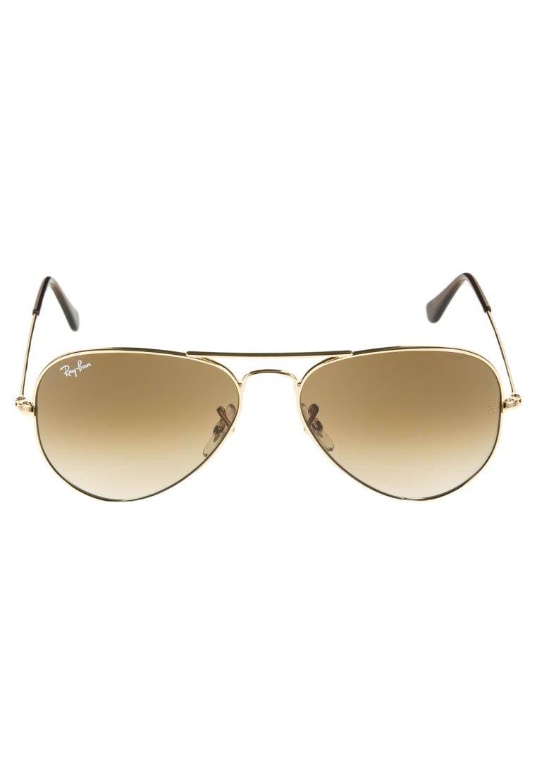 Ray-Ban AVIATOR - Occhiali da sole - braun/goldfarben KM3sX9KZ