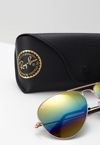Ray-Ban - AVIATOR - Sunglasses - bronze/copper light grey rainbow - 3