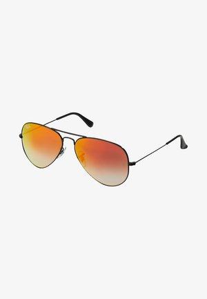 AVIATOR - Okulary przeciwsłoneczne - mirror gradient redcrystal standard