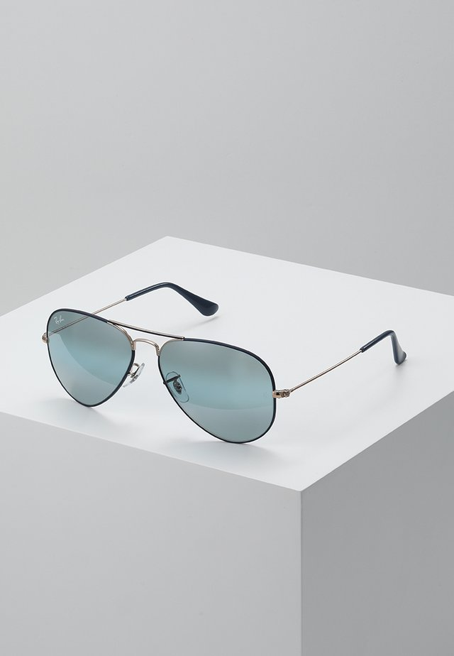 AVIATOR - Gafas de sol - copper/dark blue