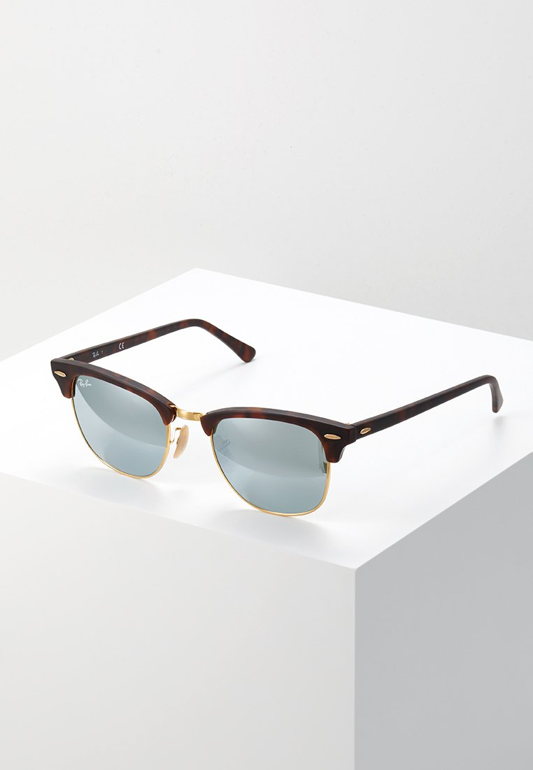 Ray-Ban - CLUBMASTER - Solbriller - light green/brown