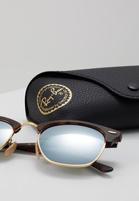 Ray-Ban - CLUBMASTER - Solbriller - light green/brown - 3