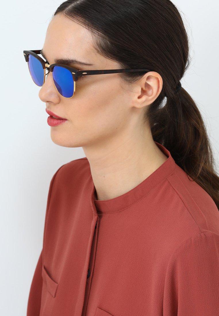 Ray-Ban CLUBMASTER - Solglasögon - brown/blue
