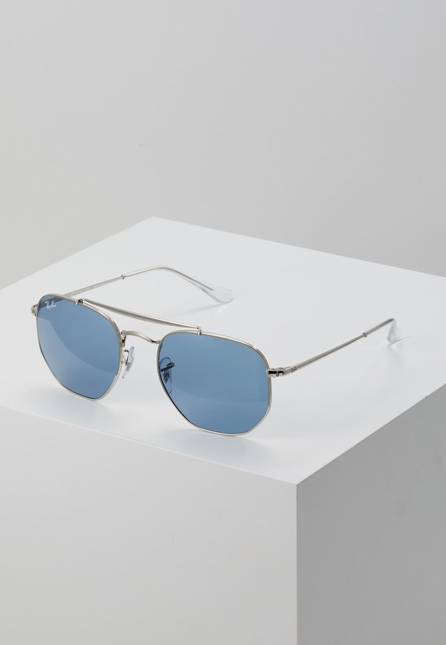 Sunglasses - silver/blue