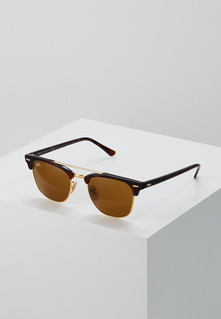 Ray-Ban - CLUBMASTER DOUBLEBRIDGE - Solbriller - brown