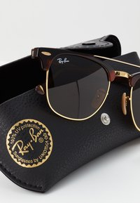 Ray-Ban - CLUBMASTER DOUBLEBRIDGE - Solbriller - brown - 3