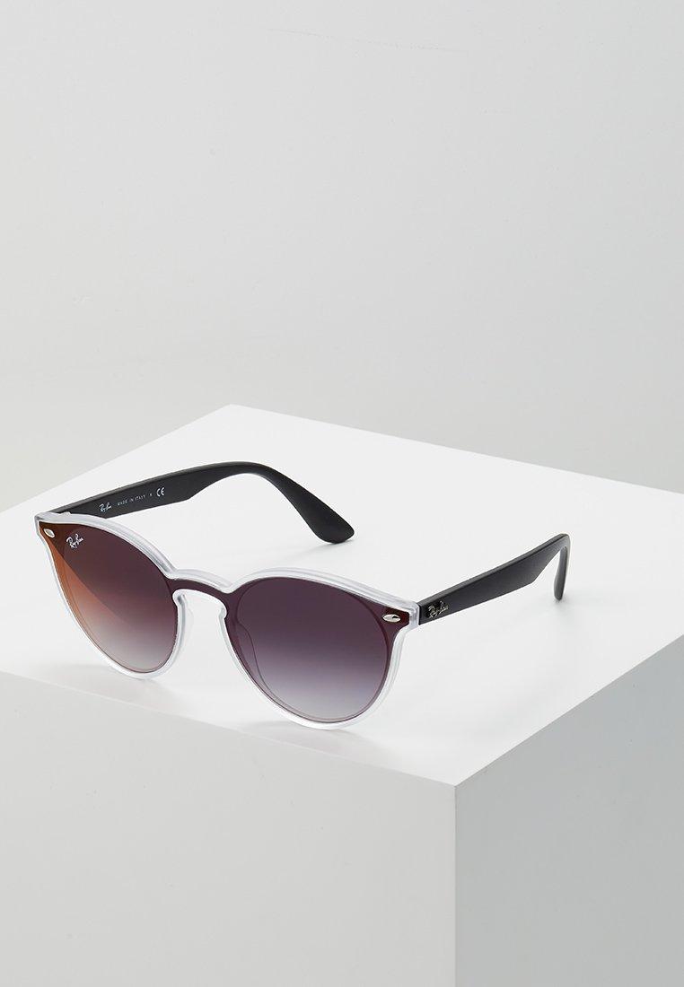 Ray-Ban - Sonnenbrille - matte trasparent