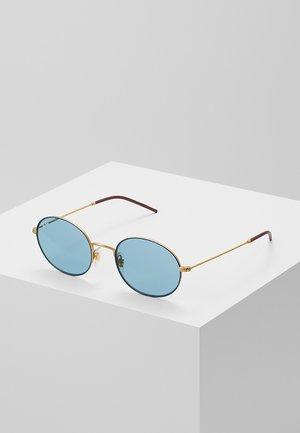 Solbriller - gold-coloured/blue