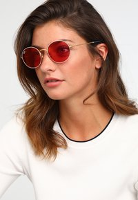 Ray-Ban - Occhiali da sole - gold-coloured/white - 2
