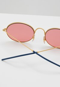 Ray-Ban - Occhiali da sole - gold-coloured/white - 4