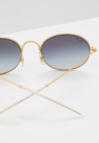 Ray-Ban - Occhiali da sole - rubber gold-coloured on top black
