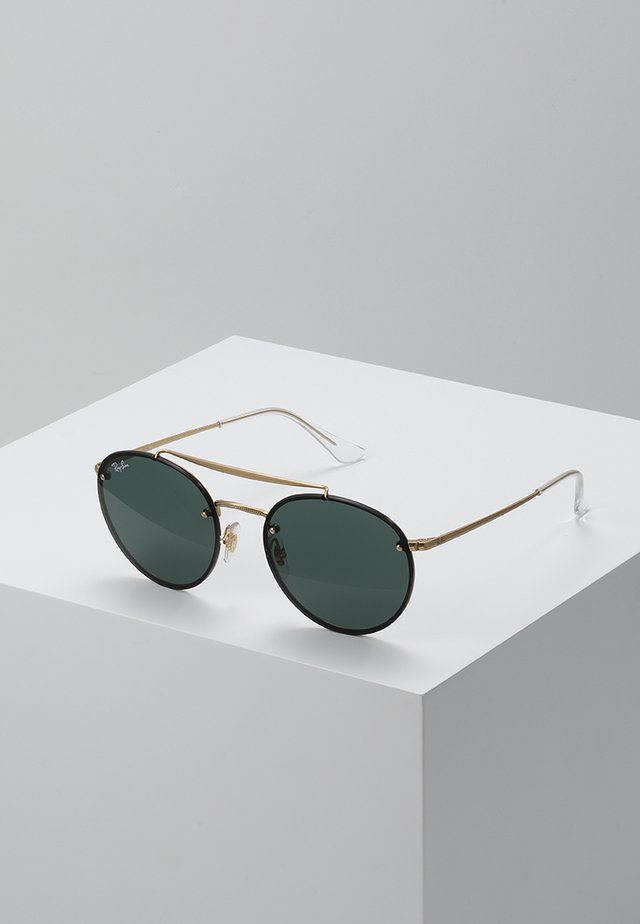Sunglasses - demi gloss gold-coloured