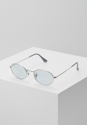 Sonnenbrille - silver/light blue