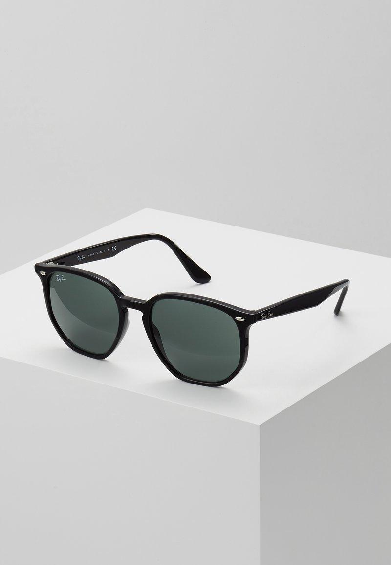 Ray-Ban - Okulary przeciwsłoneczne - black/green