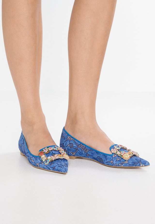 ICON - Slippers - guipur blue