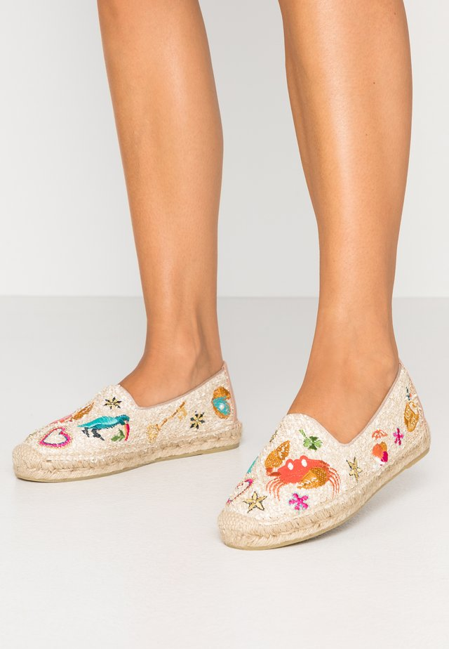 Loafers - fluff sand/dream sand