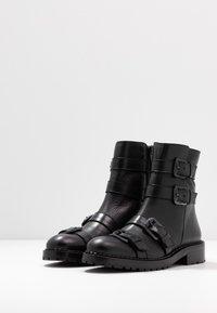RAS - DADA - Kovbojské/motorkářské boty - black - 4