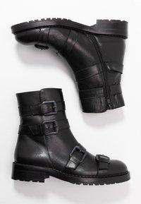 RAS - DADA - Kovbojské/motorkářské boty - black - 3