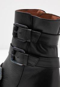 RAS - DADA - Kovbojské/motorkářské boty - black - 2