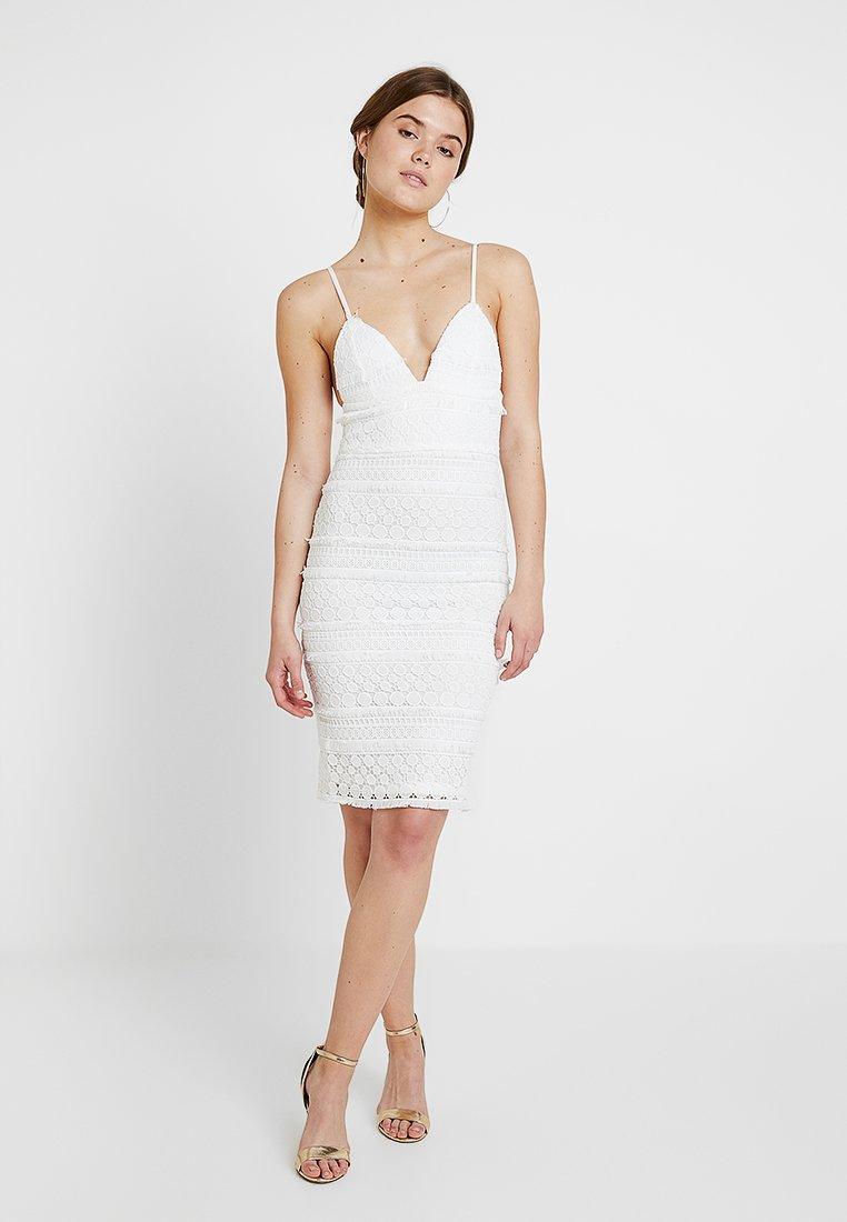 Rare London - DRESS - Cocktailkleid/festliches Kleid - white