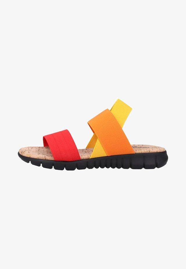 Sandales - red/orange/yellow