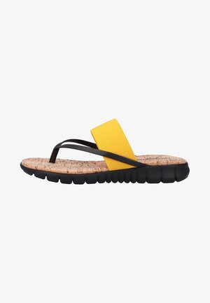 Sandaler m/ tåsplit - yellow