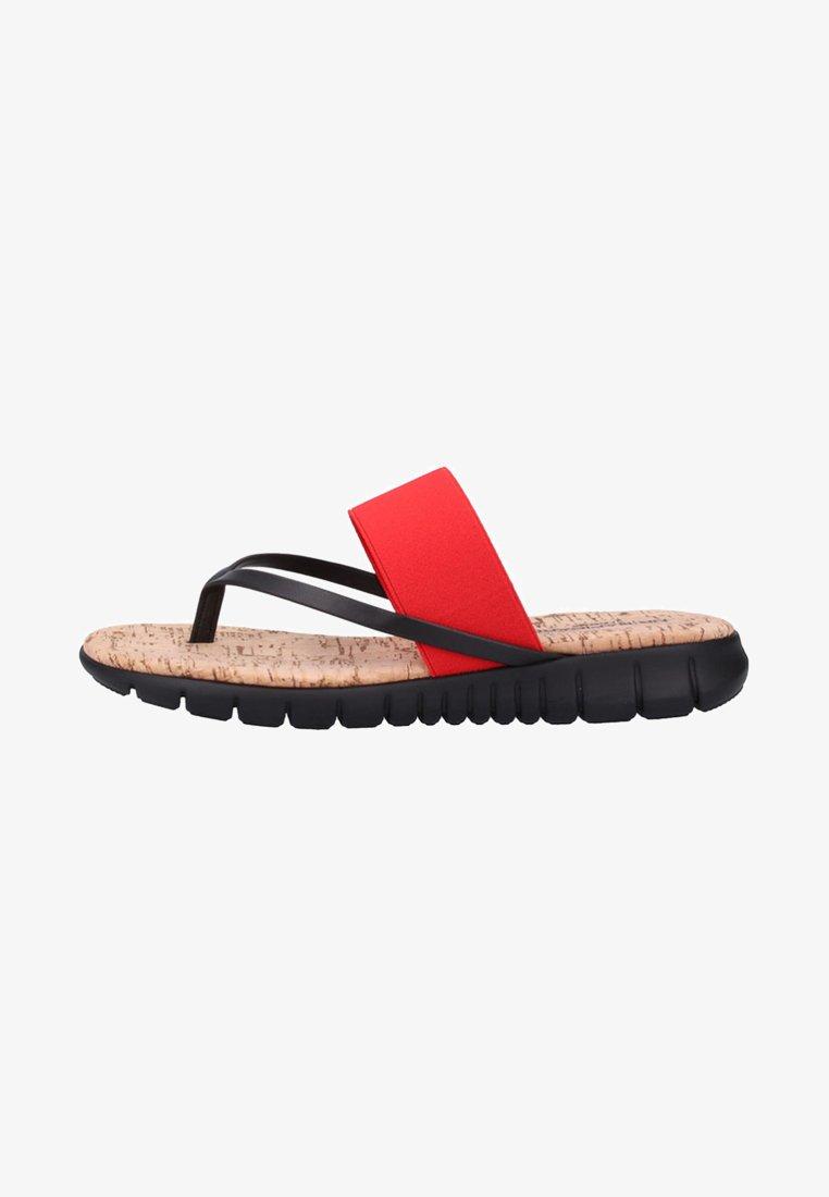 Rapisardi - Pantolette flach - red