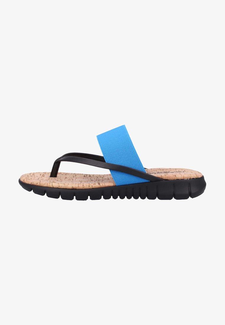 Rapisardi - T-bar sandals - turquoise