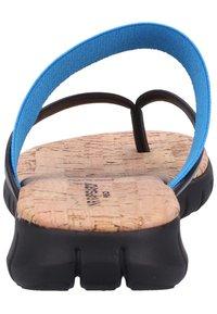 Rapisardi - T-bar sandals - turquoise - 3