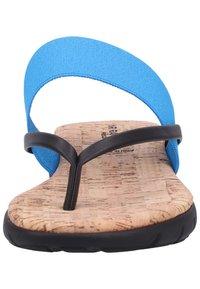 Rapisardi - T-bar sandals - turquoise - 6
