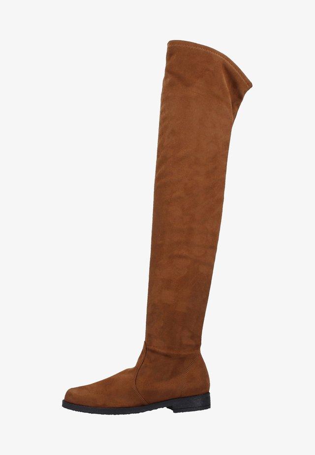 STIEFEL - Overknees - brown