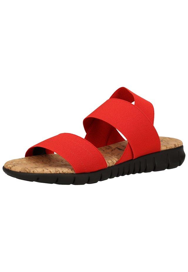 Sandaler - rosso s003