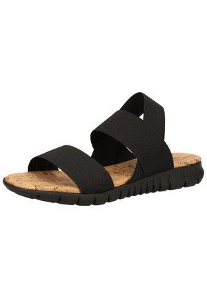 Sandaler - nero s001