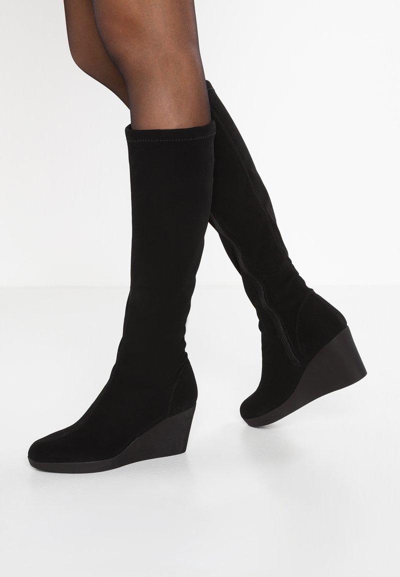 Rapisardi - BLONDIE  - Wedge boots - black