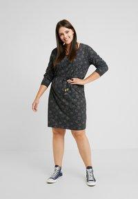 Ragwear Plus - PELIADA ORGANIC DRESS - Kjole - black - 1