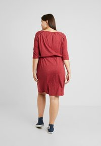 Ragwear Plus - TETUAN ORGANIC DRESS - Kjole - wine red - 2