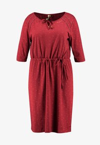 Ragwear Plus - TETUAN ORGANIC DRESS - Kjole - wine red - 3