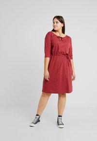Ragwear Plus - TETUAN ORGANIC DRESS - Kjole - wine red - 0