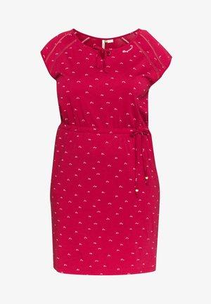 TETUAN ORGANIC PLUS - Jersey dress - red