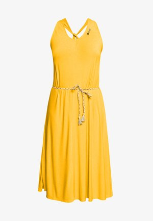 MILIE PLUS - Robe en jersey - yellow